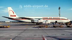 Royal Air Maroc, CN-RMB (timo.soyke) Tags: cnrmb royalairmaroc boeing b707 b707351 cargo cargoplane fra eddf frankfurt plane aircraft airplane vintage