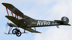 Avro 504K (Bernie Condon) Tags: uk british shuttleworth collection oldwarden airfield airshow display aviation aircraft plane flying festivalofflight june2019 avro avro504 trainer raf military vintage preserved 1920s royalairforce shuttleworthcollection