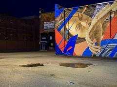 PA060959 (elsuperbob) Tags: detroit michigan easternmarket emptyspaces emptystreets nightscenes murals muralsinthemarket streetart