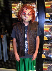 Chucky (Vinny Gragg) Tags: store stores costumes costume cosplay monster movie scary killer horror monsters horrormovies illinois joliet jolietillinois willcounty comics comicbook superhero comicbooks superheroes villian villians supervillian supervillians chucky spirithalloween halloween spirit charlesleeray doll