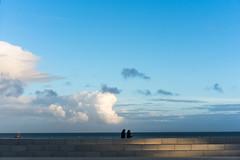 Carnac, Golfe du Morbihan, Bretagne, France (johann walter bantz) Tags: light mer color evening bretagne atlantic 55mm carnac plages sonyilce golfedumorbihan