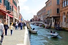 Rio dei Vetrai (Joe Shlabotnik) Tags: italia venice bridge 2019 italy murano violet canal sue april2019 venezia afsdxvrzoomnikkor18105mmf3556ged