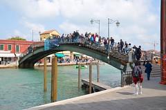 Ponte Longo (Joe Shlabotnik) Tags: italia bridge 2019 italy murano canal april2019 venice venezia afsdxvrzoomnikkor18105mmf3556ged