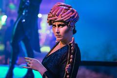 Vanity Faire Scare Zone at Halloween Horror Nights 29 Universal Orlando. Photo by Philip Hernandez (hernandez.philip) Tags: halloween halloweenhorrornights orlando scareactor makeup prosthetics