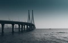 bandra worli sea link (Ashwin ravishankar) Tags: canon travel mumbai city sea bandra canon600d blues