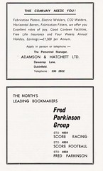 Stockport County vs Mansfield Town - 1969 - Page 6 (The Sky Strikers) Tags: stockport county mansfield town football league division three edgeley park 9d official programme go