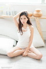 Belle (Francis.Ho) Tags: belle barefeet legs xt2 fujifilm girl woman female femme lady portrait people beauty pretty lips eyes hair face elegant glamour young sensuality fashion naturallight fashionable attractive stylish pajamas lingerie lace