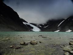 Tarfalajaure (dration) Tags: lapland sweden landscape glacier lake