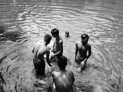 Shariatpur (Mridul Bangladeshi) Tags: filmphotography film village iphonephotography iphone bnw dhaka documenting documentary documentaryfilm documentaryphotography shower swimming boys people rural urban bangladesh