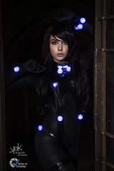 Marzia Dell'Orso as Reika from Gantz, at ViC 2019, by SpirosK photography (SpirosK photography) Tags: marziadellorso portrait cosplay anime manga gantz voltaincosplay2019 voltaincosplay spiroskphotography lowkey costumeplay palazzogonzaga tunnel dark