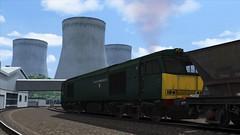 EWS 60081 - Didcot Power Station - 6A64 (Lukas Gwynne) Tags: train simulator 2019 2020 ts2020 ts2019 ts19 ts20 gwr great western railway 60081 ews english welsh scottich haa mgr merry go round coal avonmouth didcot power station 6a64
