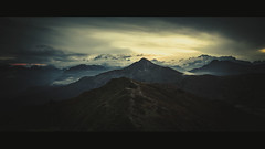 Dolomite Sunset (der_peste (on/off)) Tags: landscape sunset sundown layers clouds dolomites italy veneto nature