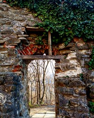 Sighisoara (xandriaam) Tags: fortifications walls ro romania forest fortification forgotten lostplaces sighisoara ruins dust