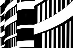 Panta Rhei (HWHawerkamp) Tags: germany duesseldorf building architecture facade blackwhite graphics abstract