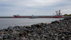 Departure of Erieborg Cargo Ship, Duluth Port 10/8/19 (Sharon Mollerus) Tags: shipping duluth ships lakesuperior minnesota mn a19