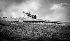 Harwood . (wayman2011) Tags: 7artisans55mmf14lightroom5 colinhart fujifilmxe2s wayman2011 bwlandscapes mono rural farms sky pennines dales teesdale harwood countydurham uk