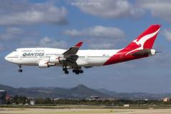 Boeing 747-438ER VH-OEE Qantas (msd_aviation) Tags: boeing boeing747 b747 b744 b747400 qantas australia barcelona barcelonaairport lebl bcn landing queenofskies queenoftheskies aviation spotting spotters planespotting planespotters