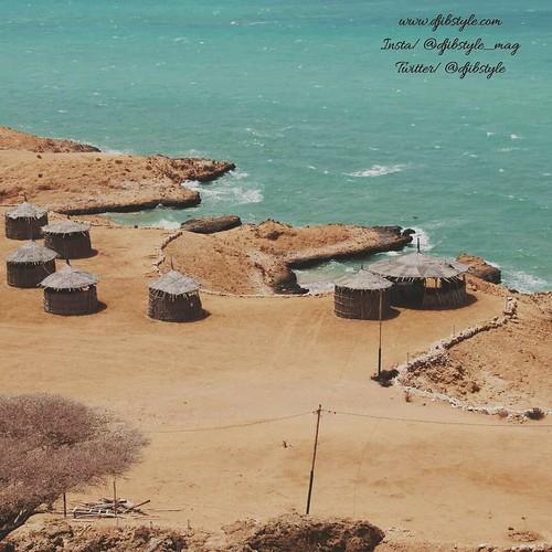 From the top  . . .  #travelphotograhy #travel #Pêche #Summer #Diving #SUn #Rest #Paysagemagnifique #Diving #Sunset #Djibouti #Obock #Godoria #Africa #EastAfrica #Beach #Beachlife #blueSky