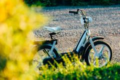 Never forget (Nicola Pezzoli) Tags: italy italia val bergamo lombardia seriana green nature bike bokeh natura ciao leffe motor piaggio gandino