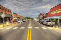 Steelville Missouri (LarryHB) Tags: travel hdr horizontal photography rustic scenic smalltown missouri streetscene commerical larrybraunphotography crawford county mainstreet