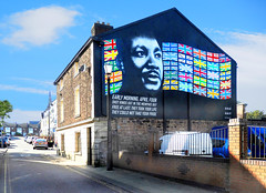 MARTIN LUTHER KING MURAL (tommypatto : ~ IMAGINE.) Tags: newbrighton wirral merseyside murals streetart