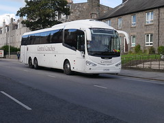 Central Coaches of Aberdeen Scania K360EB6 Irizar i6 L77CTC at King Street, Aberdeen, on 12 September 2019. (Robin Dickson 1) Tags: busesaberdeen centralcoachesaberdeen l77ctc yt11lvj craigofcampbeltown westcoastmotors fairlinecoaches t600wcm irizari6