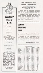 Stockport County vs Mansfield Town - 1969 - Page 2 (The Sky Strikers) Tags: stockport county mansfield town football league division three edgeley park 9d official programme go
