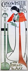L'exposition Moderne Maharajah (Musée des arts décoratifs, Paris) (dalbera) Tags: dalbera paris france muséedesartsdécoratifs maharajahdindore mackintosh affiche écoledeglasgow artnouveau