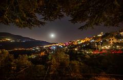 Kartaba View (Paul Saad) Tags: panoramic pano kartaba qartaba night lights lebanon moon sky stars longexposure colors trees nikon d850 paulsaad paulstudio nightlife