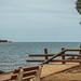 View from Fun Beach Restaurant site towards Duck Island