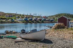 Durrell, Newfoundland (Serge Dai) Tags: scenery views spectacular paysage harbour houses stages wharfs fishing boats
