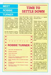 Wimbledon vs Luton Town - 1988 - Page 4 (The Sky Strikers) Tags: wimbledon luton town dons review barclays league division one official matchday magazine pound plough lane