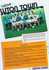 Wimbledon vs Luton Town - 1988 - Page 8 (The Sky Strikers) Tags: wimbledon luton town dons review barclays league division one official matchday magazine pound plough lane