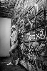 Elo (β r υ η o) Tags: 2019 art artistic artistique bruno brunogass69 croix definition gass69 haute hd high lyon manequin model modele nikkor nikon photo photoart rousse traboules hip hop rap black white noir et blanc fine bonnet fille