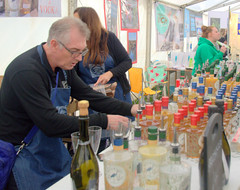 Drinks at Stone Food & Drink Festival 2019 (Tony Worrall) Tags: update place location uk england visit area attraction open stream tour country item greatbritain britain english british gb capture buy stock sell sale outside outdoors caught photo shoot shot picture captured ilobsterit instragram stone food foodies eat make goods stalls feeding midlands event show fun annual stonefoodfestival candid people street candidphotos drink bottles gin man