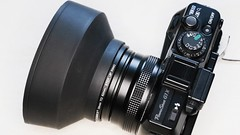 Rubber lens hood for PowerShot G1X. (MIKI Yoshihito. (#mikiyoshihito)) Tags: rubber lenshood rubberlenshood powershot powershotg1x g1x