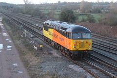 Colas Rail 56049 'Robin Of Templecombe' @ Trowell Jn. (MarcoRails1991) Tags: class56 colasrailfreight 56049 robinoftemplecombe trowelljunction nuneationtrentvalley doncastercarriageholdingsidings nuneaton doncaster