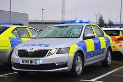 NV19 WHZ (S11 AUN) Tags: tees hartlepool harbour cleveland police skoda octavia incident response vehicle irv panda car 999 emergency nv19whz