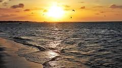 Barra Grande - Sunset (sileneandrade10) Tags: sileneandrade kitesurf barragrande piauí kitesurfzone nikoncorporationcoolpixp1000 nikoncoolpixp1000 nikon praia água mar bgk viagem turismo landscape paisagem hdr