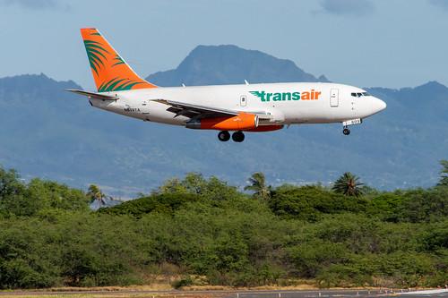 Transair Boeing 737-200F; N809TA@HNL;11.09.2019