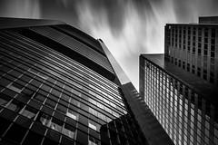 Commerzbank Tower II (s.W.s.) Tags: frankfurt germany architecture architectural city building urban sky europe clouds longexposure neutraldensity blackandwhite lookup nikon lightroom
