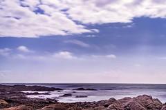 La côte (marine Gibot) Tags: côte mer sea seascape longexposure paysage water roc plage beach