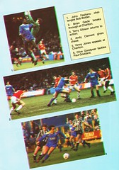 Wimbledon vs Luton Town - 1988 - Page 32 (The Sky Strikers) Tags: wimbledon luton town dons review barclays league division one official matchday magazine pound plough lane