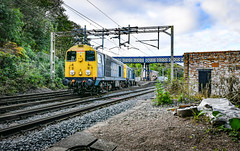 20107 and 20096 at Kidsgrove (robmcrorie) Tags: branch used crewe esso longport ballast sidings pinnox station nikon land staffordshire recovery d850 kidsgrove