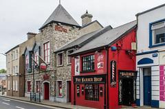 Sligo - Belfry & Barber Shop Thomas Street (Le Monde1) Tags: ireland connacht connaught republic nikon d7000 countysligo eire yeats abbey belfry barbershop thomasstreet