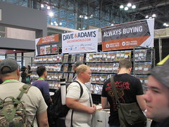 2019 NY Comic Con Dave and Adam's Vintage Comics Booth 4756 (Brechtbug) Tags: 2019 nyc comic con inside jacob javits center west side midtown manhattan october 6th comiccon 10062019 comics convention new york city entrance way four day event