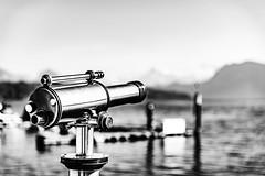 Luzern/Schweiz 21. März 2019 (karlheinz klingbeil) Tags: nikon see water switzerland city lake fernglas suisse monochrome schweiz 2470 telescope stadt tamron2470 lakelucerne d810 wasser lago