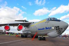 DSC_9881_ (jhellender) Tags: jhellender riat2019 riat static staticdisplay ukrainianairforceilyushinil76 candid ukrainianairforce ilyushinil76 il76