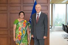 WIPO Director General Meets Sri Lanka IP Office's Director General (WIPO | OMPI) Tags: assemblies directorgeneral francisgurry bilateralmeeting srilanka wipo ompi