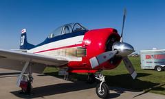 N238V T-28, Oshkosh (wwshack) Tags: airventure eaa eaaairventure fennec kosh northamerican osh oshkosh t28 trojan usa unitedstates whittmanregional wisconsin n238v